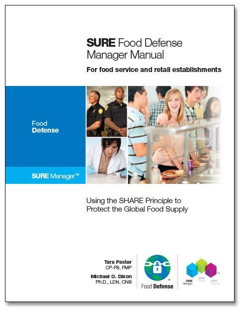 SURE™ Food Defense Manager Manual